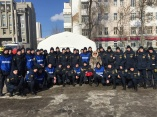 Празднование 75 - летия Уральского добровольческого танкового корпуса!