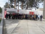 В  Уральском  Техникуме  « Рифей» прошли военно-полевые сборы
