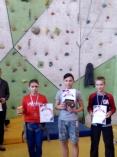 Кадеты – победители районных соревнований по скалолазанию!