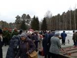 Посещение госпиталя ветеранов и Широкореченского мемориала