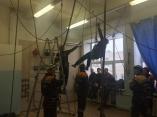 Соревнования в Уральском пожарно-спасательном учебном центре